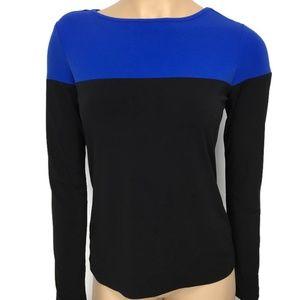 Calvin Klein Color Block Knit Top